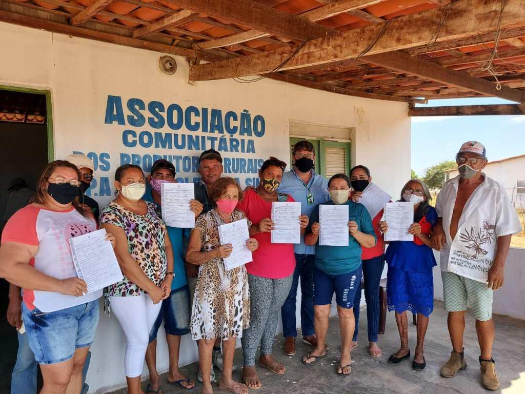 Mutirão do Incra RN ajuda na emissão de 57 Títulos Definitivos para famílias assentadas no Rio Grande do Norte