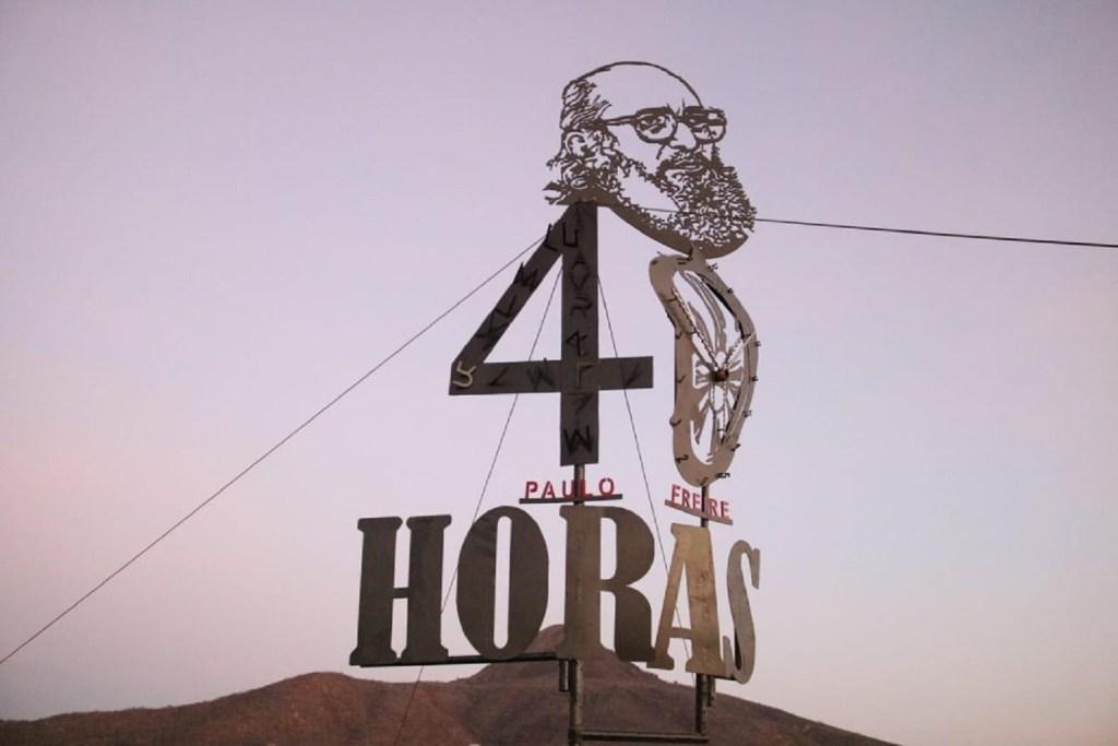 No RN, governo inaugura monumento em homenagem a centenário de Paulo Freire e às '40 horas de Angicos'