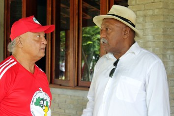 Reinaldo e Caju. Foto: Julio Carignano