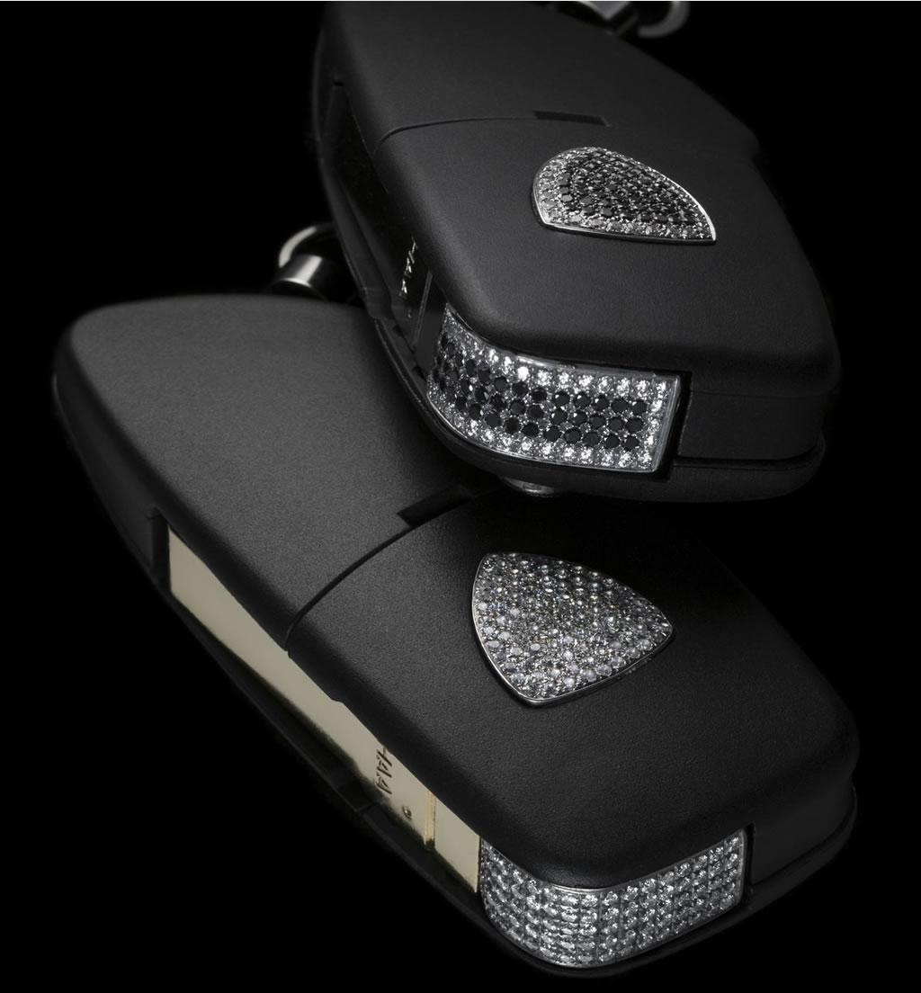 Lamborghini Diamond Studded Key Courtesy Of Amosu Luxury Por