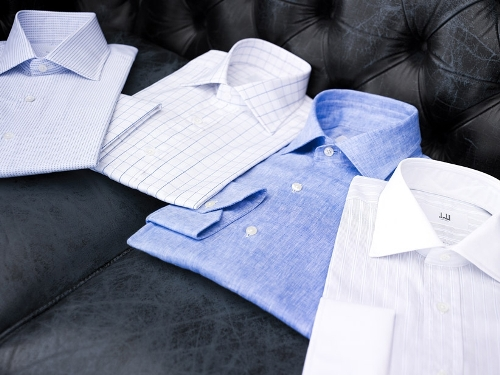 Dunhill Business and Leisure shirts for S/S 09