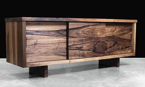 hudson furniture 39 s modern solid wood in claro walnut por homme