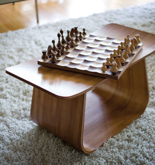 Chess just got a bit more difficult wobble chess set by adin mumma por homme contemporary - Wobble chess set ...