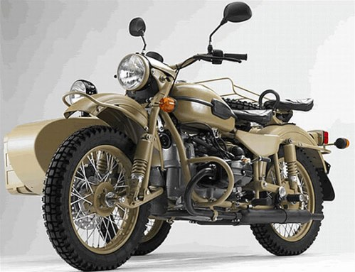 Coming to America: Ural's Limited Edition Gear Up Sahara ...