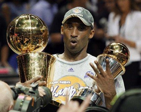 Kobe, Lakers Win NBA Championship