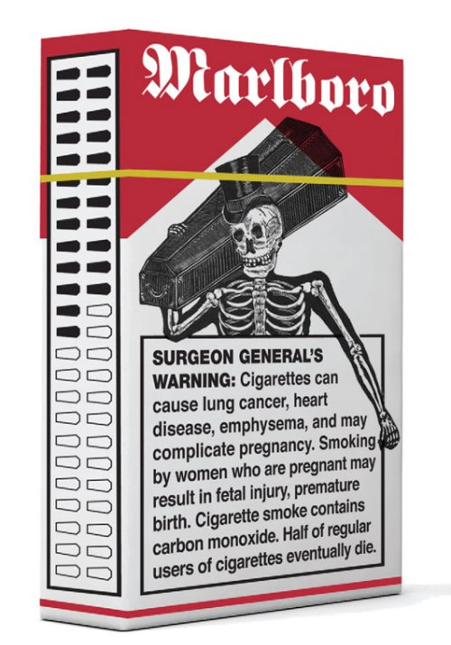 Pentagram Takes on Cigarettes
