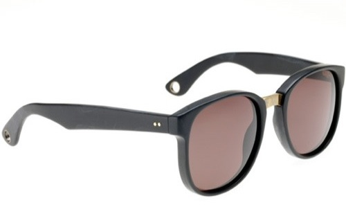 Damir Doma x Linda Farrow Black Sunglasses