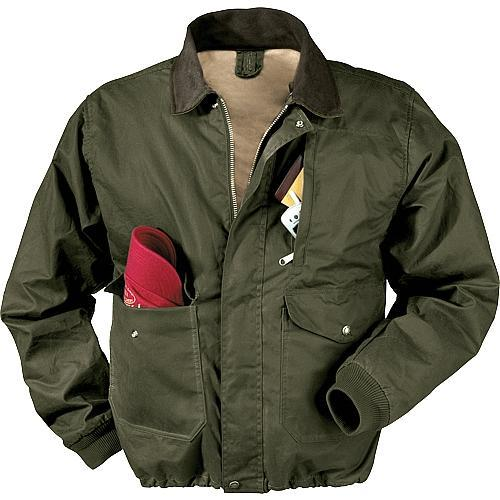 Filson Oil Finish Bomber Jacket