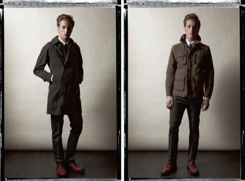 J.Lindeberg Fall/Winter 2010 Lookbook