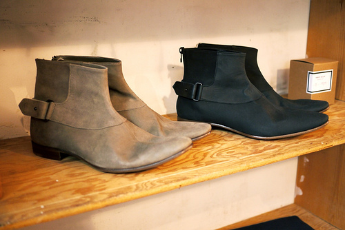 Robert Geller [New York] Calf Skin Ankle Boot