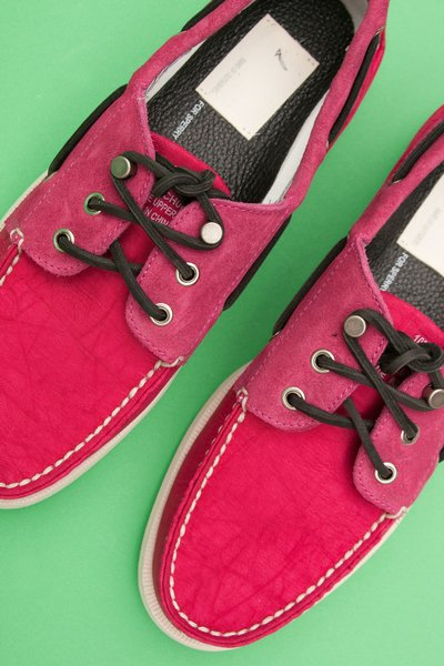 Band of Outsiders x Sperry Topsider Nylon/Suede Boat Shoe