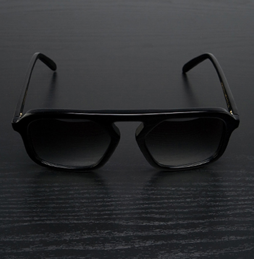 Cutler and Gross 0913 Black Acetate Frames