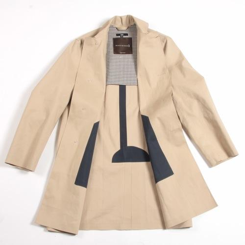 Mackintosh Duncan Fawn Overcoat