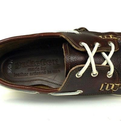 Yuketen Grain Brown Boat Shoe [S/S 2010]