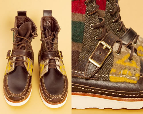 Quilted with Strap | Yuketen Maine Guide Boots