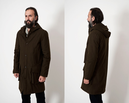 Our Legacy Water Resistant Wool Parka