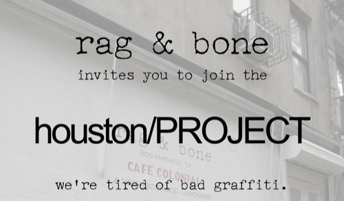 Design | rag & bone houston/PROJECT