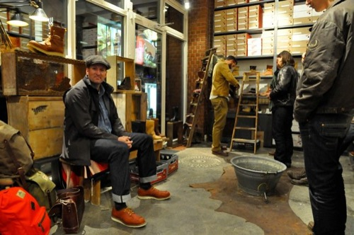Redwing Hamburg now open | red wing shoes in hamburg, germany - por homme
