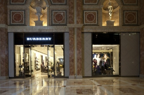 Now Open | Burberry Flagship Store in Las Vegas