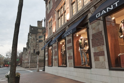 Now Open | Gant Campus Store in Yale's New Haven