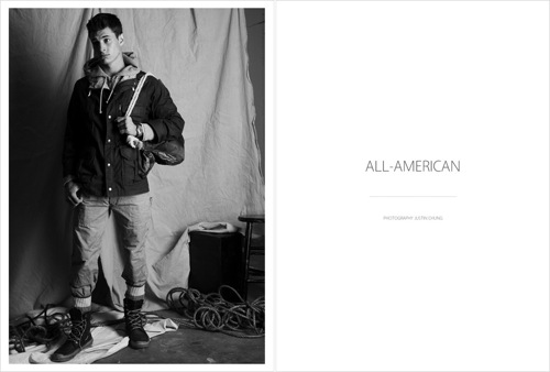 The All-American Shoot by Justin Chung
