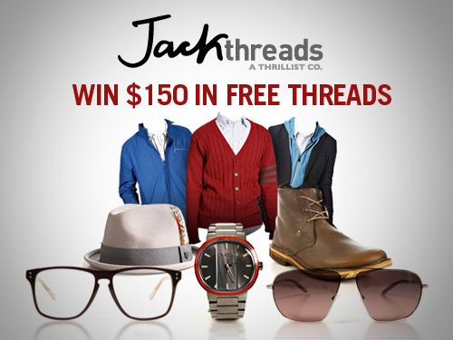 Giveaway | $150 Credit to JackThreads