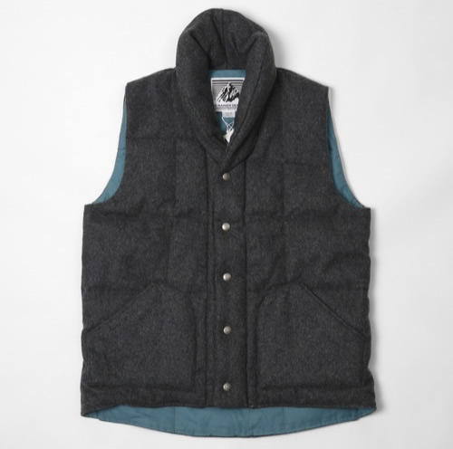 In Stock | Mt. Rainier Design Melton Wool Vest