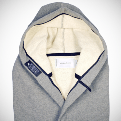 wings + horns for Ace Hotel Hoodie Bathrobes