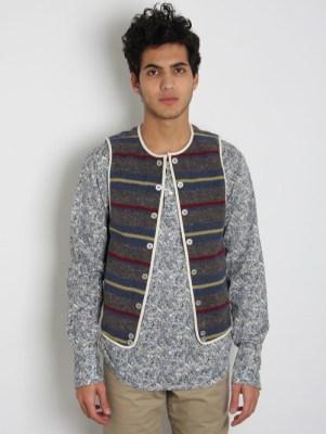 Levi's Lefty Jean By Takahiro Kuraishi Textile Waistcoat Vest