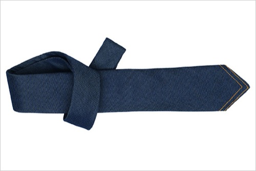 The Want | Hermes Denim Necktie