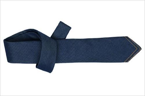 The Want | Hermes Denim Necktie