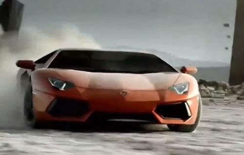 2012 Lamborghini Aventador LP700-4 Commercial