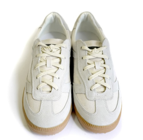 Robert Geller Low Top Canvas Sneakers