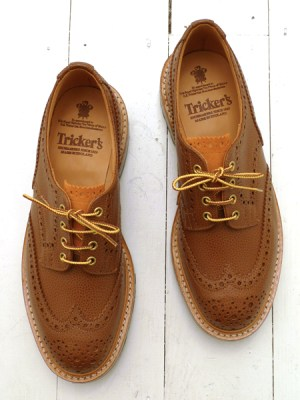 Tricker's for The Bureau 2-Tone Bourton Derby Brogues