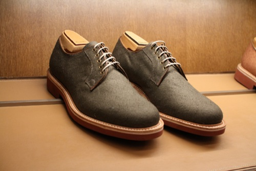 Pitti 2011 | Church's Spring/Summer 2012 Footwear