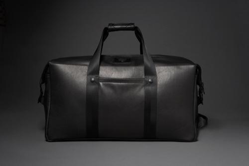 KILLSPENCER Weekender 2.0 in Black Leather