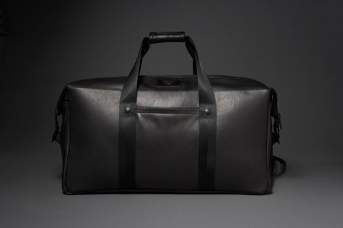 KILLSPENCER Weekender 2.0 in Black Leather