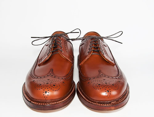 Alden Longwing Blucher in Light Brown Eclipse