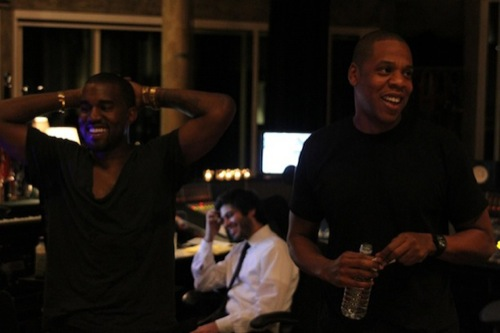Jay-Z & Kanye West | 'Watch the Throne' Session Photos