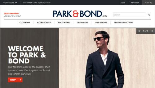 Now Open   Gilt's Park & Bond