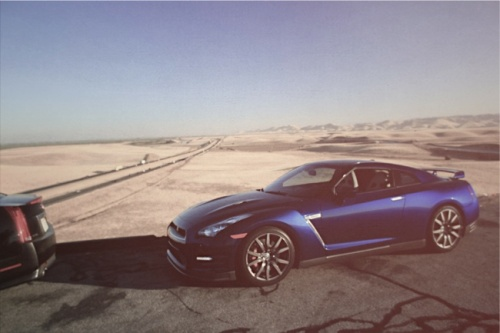 Gear Patrol | 2012 Nissan GT-R & Cadillac CTS-V Black Diamond