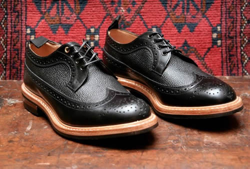 Tricker's for End Hunting Co. Two Tone Long Wing Brogue