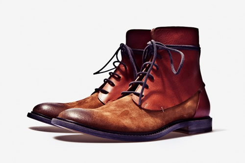Maison Martin Margiela Fall/Winter 2011 Two-Toned Leather Boot