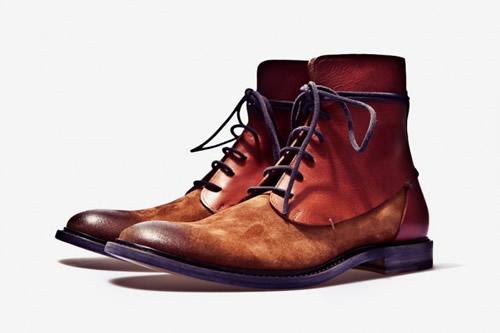 Maison Martin Margiela Fall/Winter 2011 Two-Toned Leather Boot