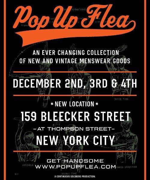 The Pop-Up Flea at 159 Bleecker Street