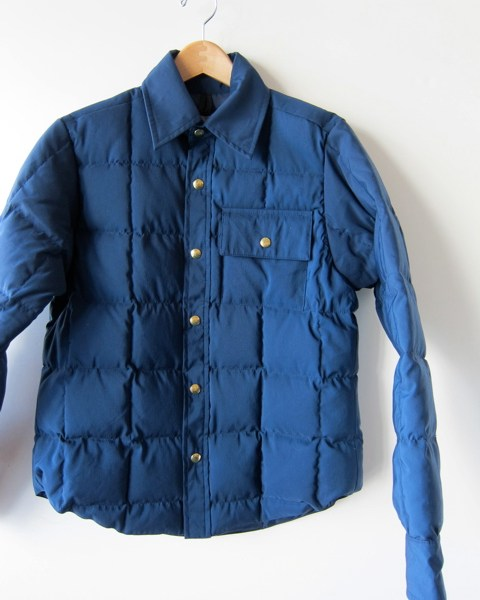 South Willard by Crescent Down Works Down Shirt Jacket