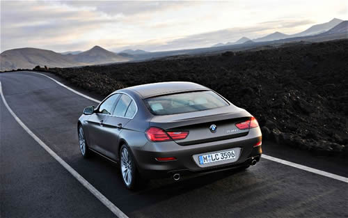 2013 BMW 6 Series Gran Coupe to Battle CLS, Panamera, A7