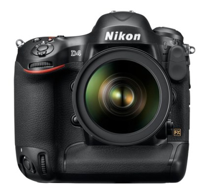Nikon D4 DSLR Full-Frame Camera