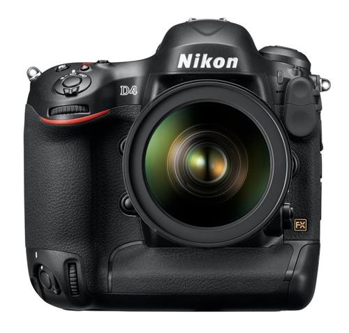 Nikon D4 DSLR Full-Frame Camera