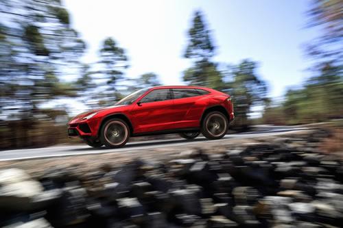 Lamborghini Urus Concept SUV at Beijing Auto Show